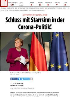 Bild Zeitung hinterfragt per Kommentar / Focus: Deutschland ruiniert Wirtschaft