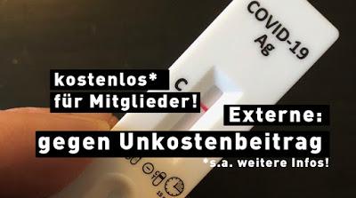 Corona-Schnelltest kostenlos* / In Kooperation mit dem Deutschen Roten Kreuz [Schelklingen]